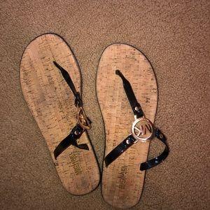 authentic mk sandals